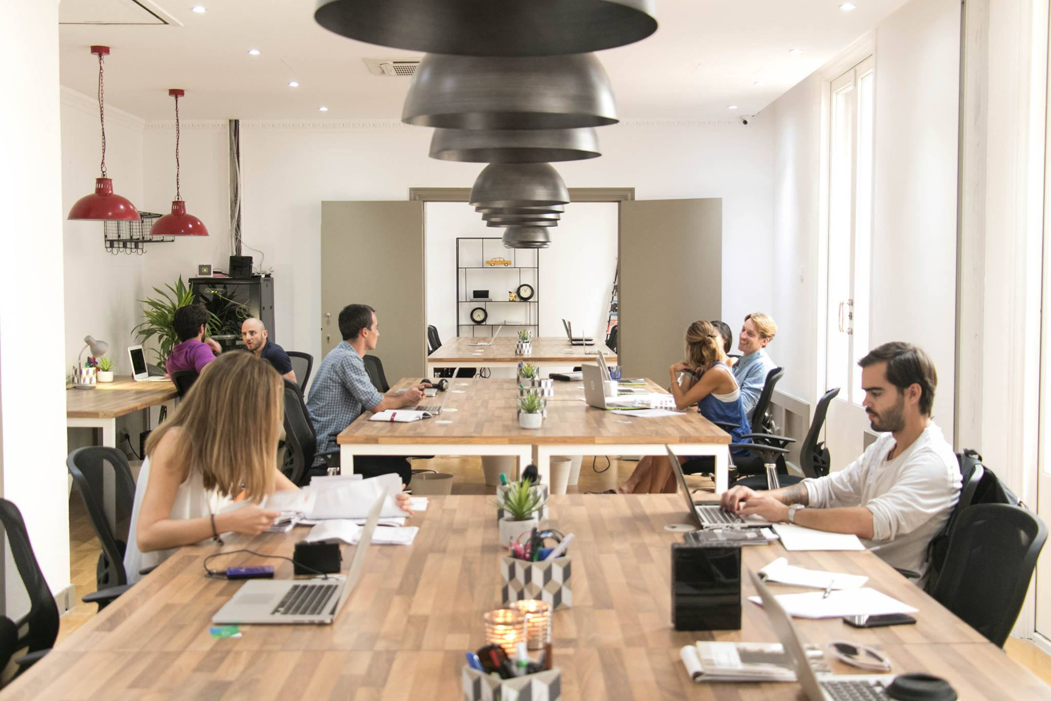 Co-working Spaces on the Rise