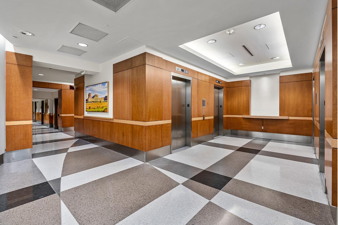 Centennial Realty Advisors elevator bank