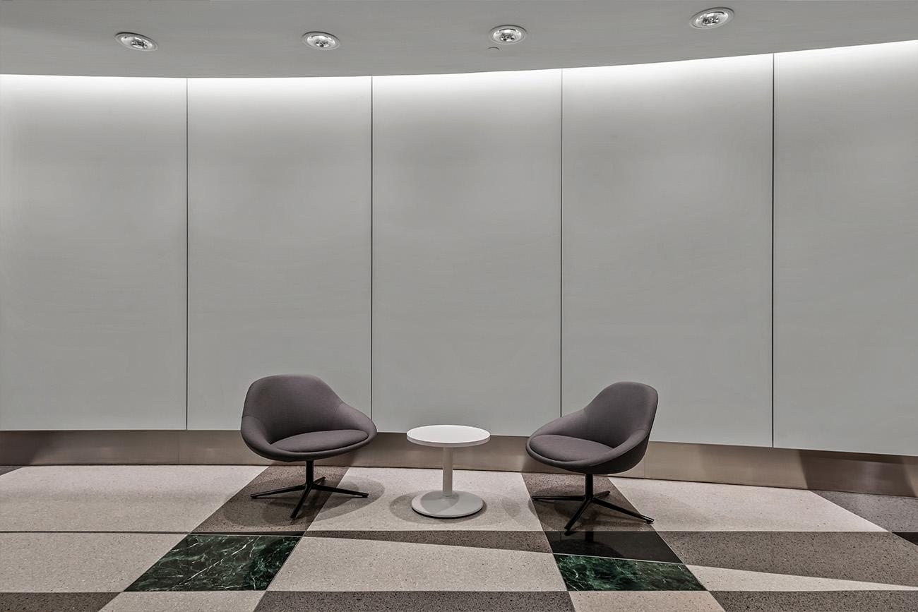 Centennial Realty Advisors seating area