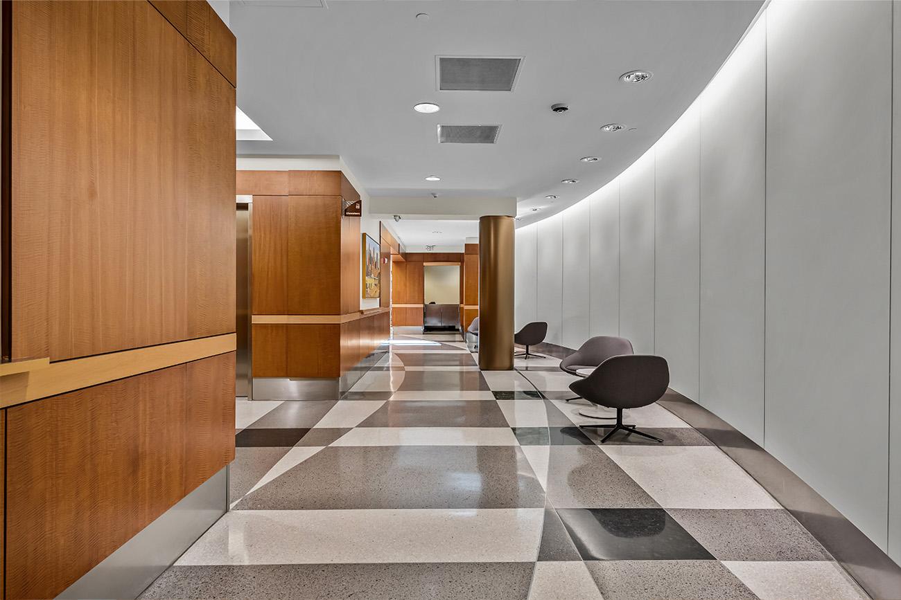 Centennial Realty Advisors - hallway lounge