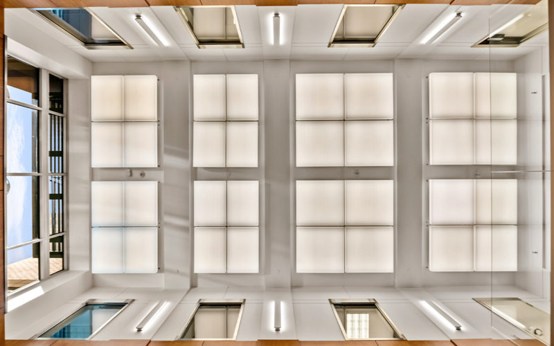 Centennial Realty Advisors - ceiling view