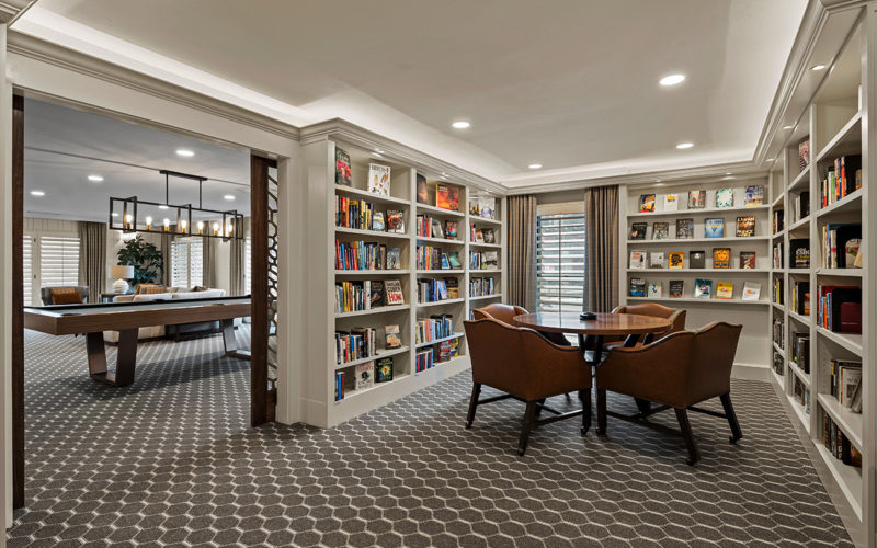 Ambassador East - library view